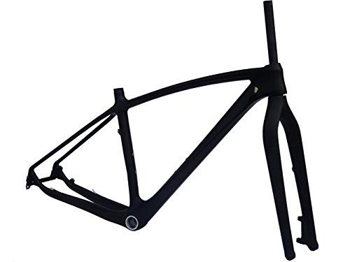 UD Carbon Matt 29ER MTB Mountain Bike Frame (for BSA) 19' Fork Axle 15mm