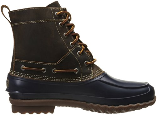 Sperry Top-sider Mænds Lokkedue Regn Boot Flåde / Tan uMcTTT99o