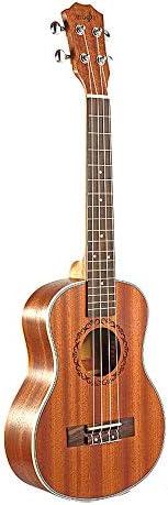 WOVELOT Tenor Acústico Eléctrico Ukulele 26 Pulgadas Guitarra 4 ...