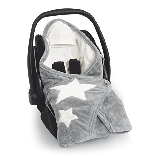 Bemini by Baby Boum Couverture enveloppante hiver universelle et multi-usage BISIDE Softy STARY Grizou best