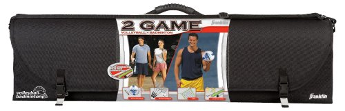Franklin Sports Advanced Volleyball/Badminton Set
