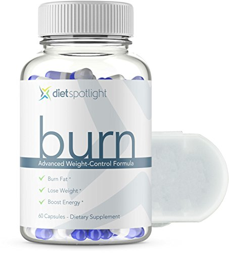 Burn HD by DietSpotlight Advanced Weight Loss Formula - Metabolism & Energy Booster, Appetite Suppressant, Safe & Effective Natural Thermogenic Supplement (1 Bottle and Daily Dose Case) by Dietspotlight