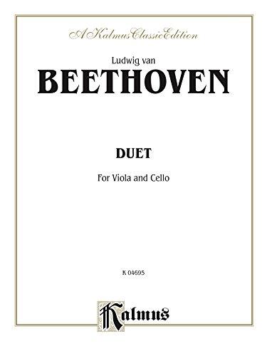 (Duet for Viola and Cello (Kalmus Edition))