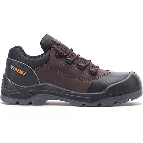 SP5043 Nail MA42 sécurité Paredes 42 Taille Noir Chaussures Marron S3 de dnEwCgx