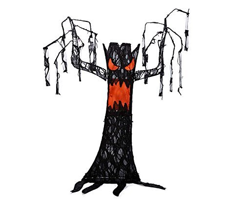 52 Inch Tall - Light up Halloween Spooky Tree -