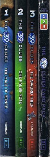 the 39 clues card pack 3 - 8