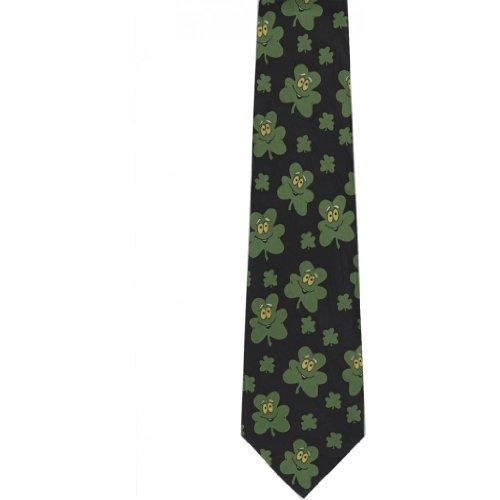 Keith Daniels Men's Shamrocks St. Patrick's Day Tie - (St Patrick's Day Ties)