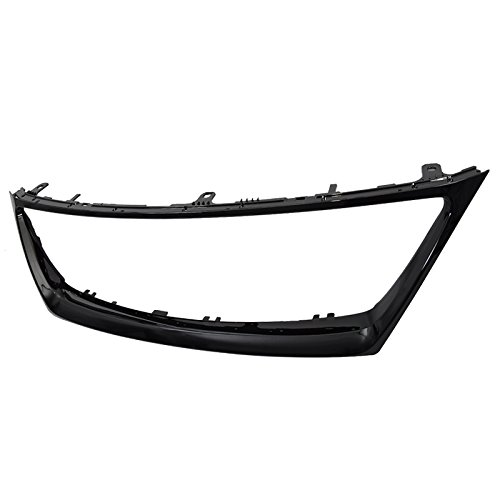 Lexus IS250 IS350 06-08 Glossy Black Front Bumper Grille Trim Molding ()