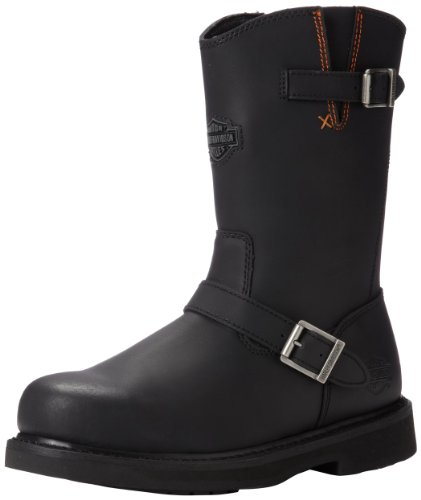 Harley-Davidson Men's Jason ST Engineer Safety Boot, Black, 13 M US by Harley-Davidson