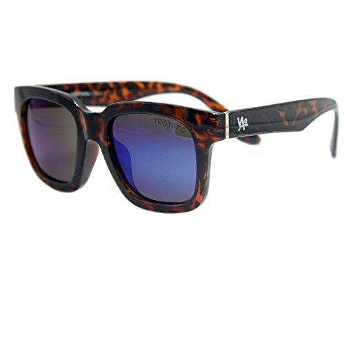 Vhccirt Fashion Wayfarer Sunglasses Brown Turtoise Color Frame Polarized Lens - Lense Colors Polarized