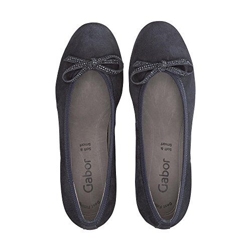 Blue Toe 16 Gabor Closed Pumps Basic Pazifik WoMen qxxAZaF