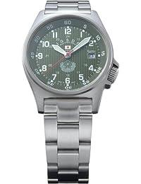 Kentex JSDF STANDARD Model Men's Green Dial Watch S455M-09