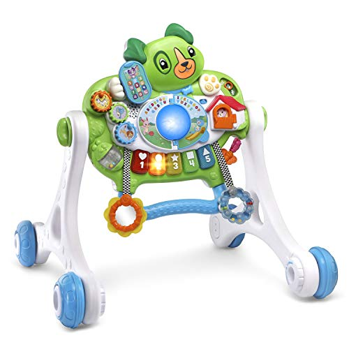 41ER3wmUSwL - LeapFrog Scout's 3-in-1 Get Up and Go Walker Frustration Free Packaging