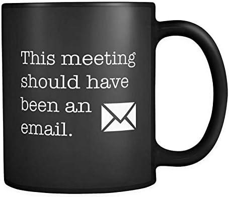Taza negra para regalo de inicio, regalo para emprendedor, regalo para compañeros de trabajo, taza de trabajo, jefe, regalo para jefe, taza para reuniones, café