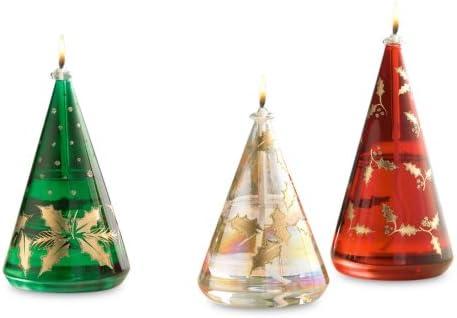 Gorham Oil Lamp Set of 3 Tree