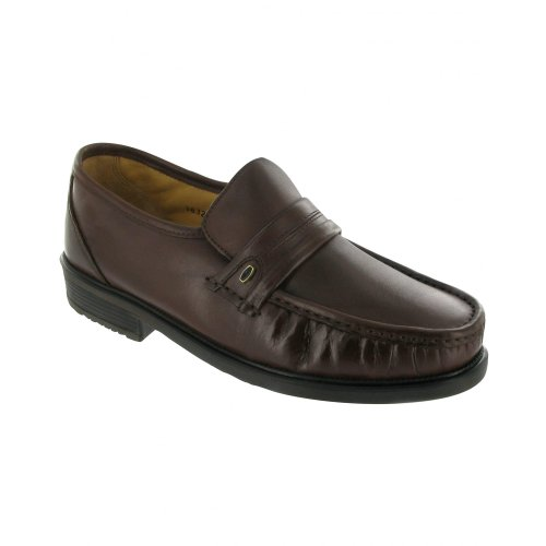 Black cuir Chaussures Charles en Amblers Homme Yw1z4Wq