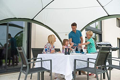 Coleman Carpa Cenador para Festivales, Jardín y Camping, Construcción Robusta de Mástiles, Gazebo con Protección Solar SPF 50 Zelt Event Shelter, Gris-Verde, XL: Amazon.es: Deportes y aire libre