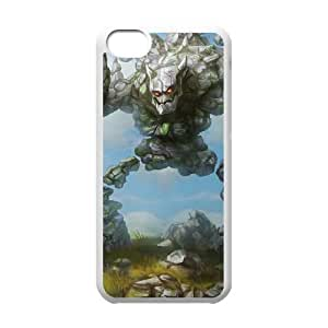 iPhone 5c Cell Phone Case White League of Legends Marble Malphite Jhpjr