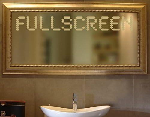 Adhesivo de No, UL574 full de pantalla de cristal de espejo de ...