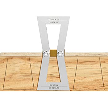 dovetail template maker - dovetail marker housolution hand cut wood joints gauge