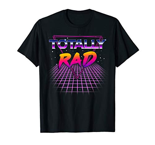 Totally Rad 1980s Halloween Costume 80s Grid Outer Space ()