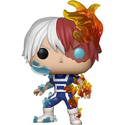 Funko Todoroki: My Hero Academia x POP! Animation Vinyl Figure & 1 POP! Compatible PET Plastic Graphical Protector Bundle [#372 / 32128 - B]: Toys & Games