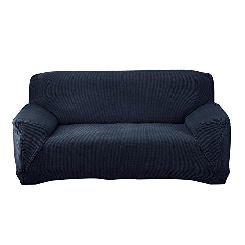 ttnight Sofa Slipcover, Wrap All-Inclusive Sofa Cover, Navy