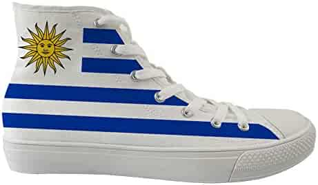 Unisex Casual High-Top Skate Shoes Classic Sneakers Adults Trainers Palestine Flag