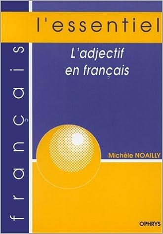 Lire un L'adjectif en français pdf