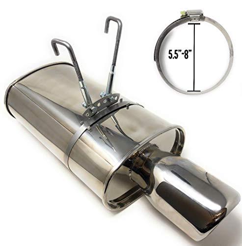 Universal Stainless Steel Muffler Hanger Kits (5.5