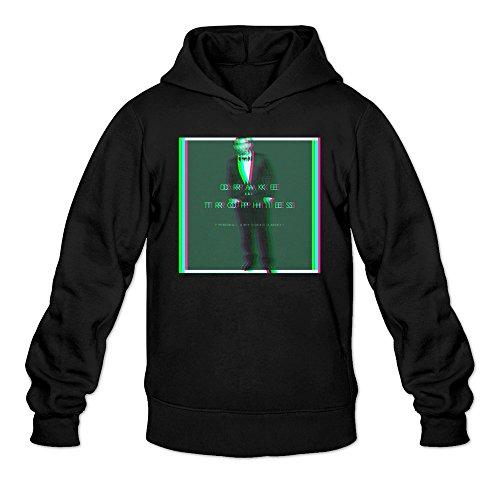 Drake Trophies Poster Hoodies Sweatshirt Black For Men