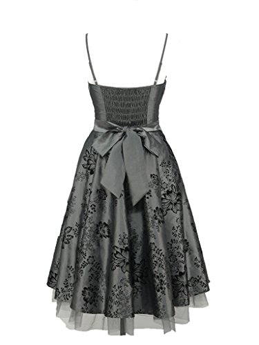 ... dress190 Damen Kleid Grau Grau ...