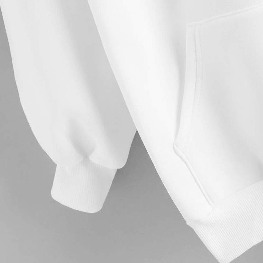 Italily Donna Elegante Sportive Invernali Tumblr Felpa Ragazze Felpa Donna Tumblr Lunga Larga Donna Grandi Sweatshirt Maniche Lunghe Donna T-Shirt Casual Hoodies Cappotti Tops Tinta Unita