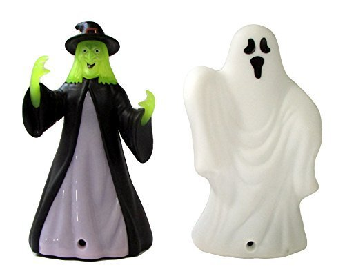 (Motion Activated Light and Sound Halloween Witch and Ghost)