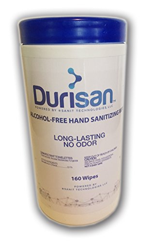 - Durisan Hand Sanitizer Wipes 6