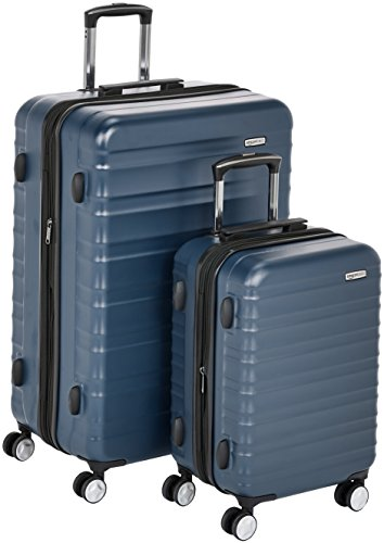 AmazonBasics Premium Hardside Spinner Luggage with Built-In TSA Lock - 2-Piece Set (20