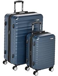 AmazonBasics, Juego de Maletas Hardside Spinner con Candado TSA