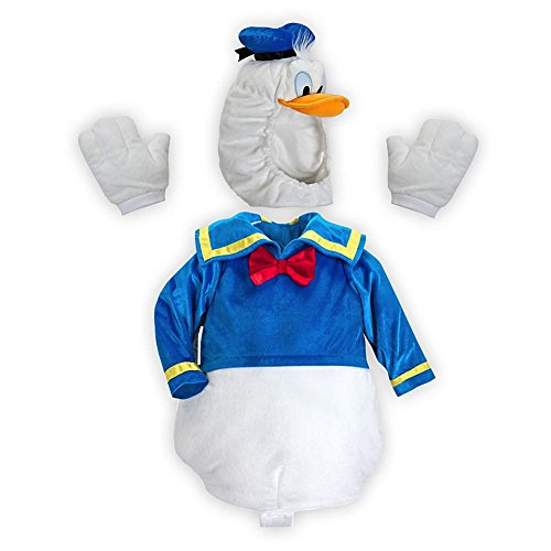 Disney Store Deluxe Donald Duck Plush Halloween Costume for Boys Size Small 5 - 6 - Store Donald