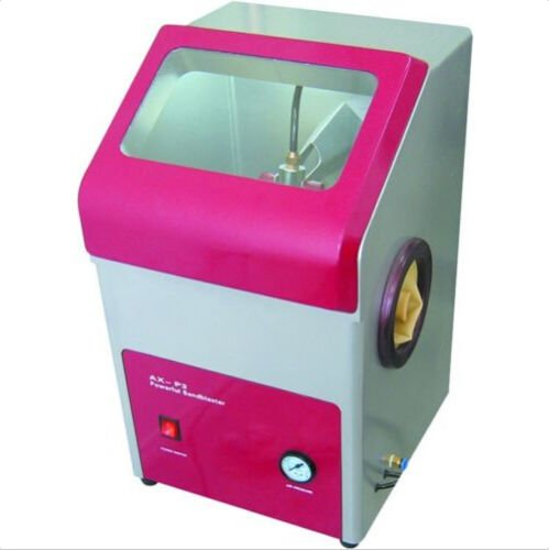 Zeta Dental Recyclable Sandblaster P2 Powerful Sand Blaster Cabinet Machine 110V by Zeta