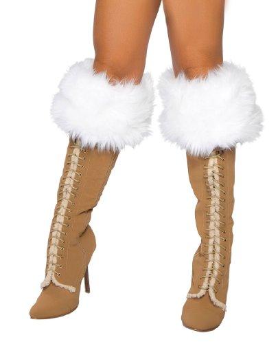 Fur Boot Cuffs Costume Accessory -
