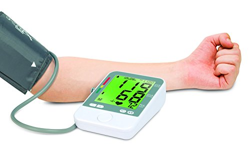 Home Blood Pressure Monitor for the Arm with Color Coded Readouts