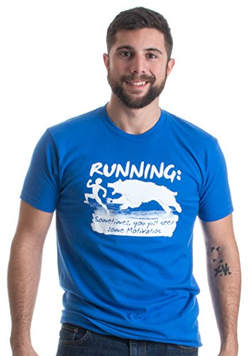 Running: Sometimes just need Motivation | Funny Runner Humor Unisex T-shirt