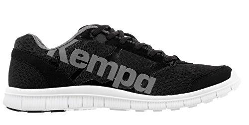 Kempa K-Float Zapatillas, Unisex adulto, Negro / Antracita, 10