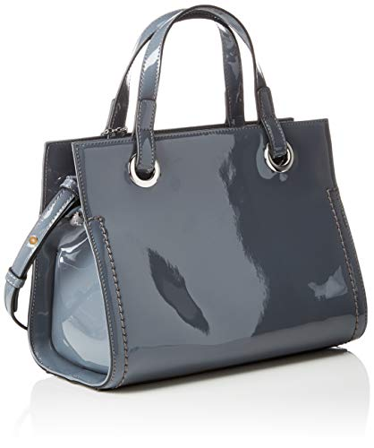 Armani Donna Borse Tote Bag grey Exchange Shopping Grigio Small r6qawvYxr