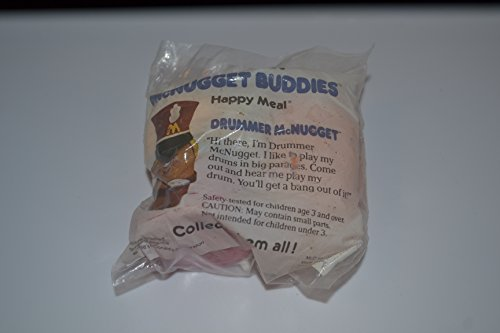 Mcdonalds 1988 Mcnugget Buddies, Drummer Mcnugget]()