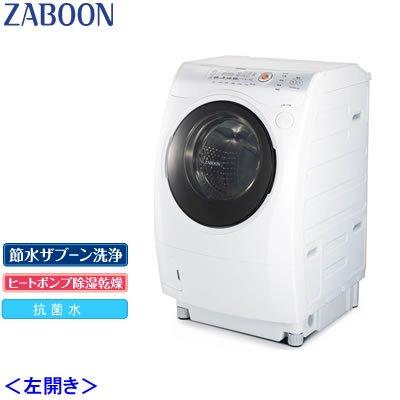 東芝 洗濯機 ドラム式 洗濯乾燥機 ザブーン TW-Z8200L-WS ホワイトシルバー 左開き 洗濯脱水9.0kg 乾燥6.0kg   B005XFC9IS
