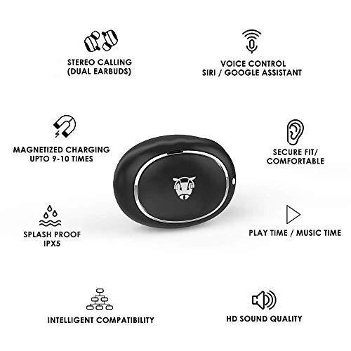 (Renewed) Ant Audio Wave Sports TWS 700 True Wireless Headset with Mic