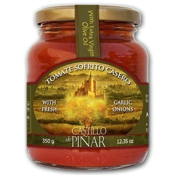 """Tomato Sauce """"Sofrito Casero"""" Pan Cooked with Extra Virgin Olive Oil By Castillo"""