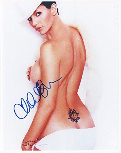 Carpenter Autographed Photo - Charisma Carpenter Signed Autographed 8 x 10 Photo
