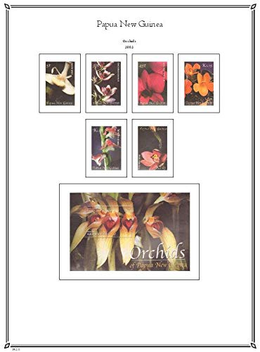 Palo Albums Papua New Guinea 2001-2009 Stamp Album Pages - Country Pages